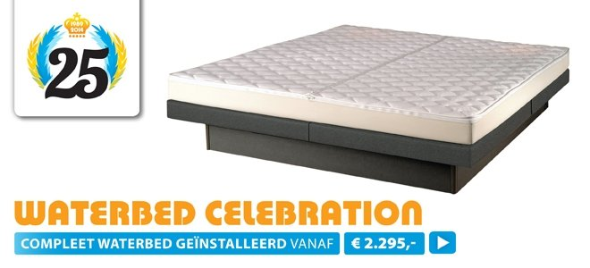 Celebration waterbed